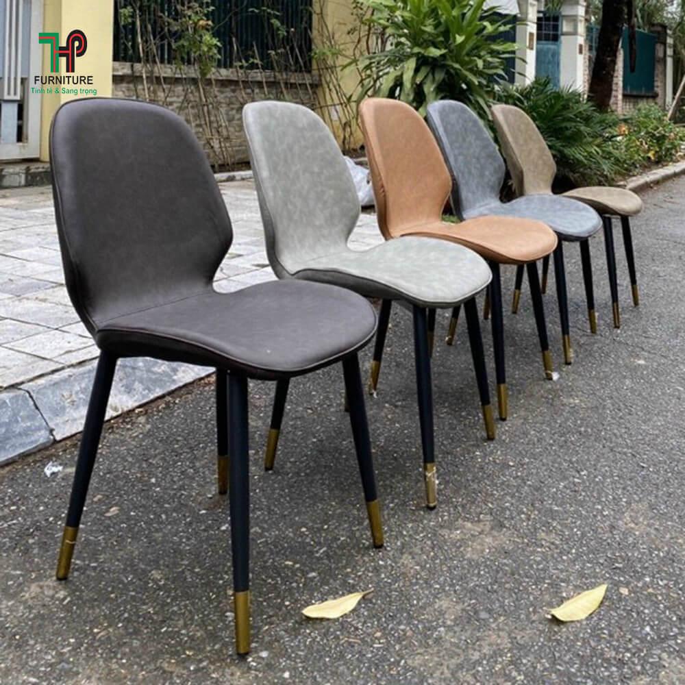 ghế ăn chân sắt núm đồng