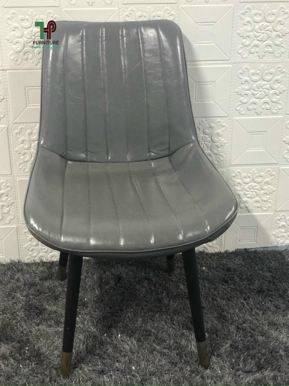 ghế nệm chân sắt sơn