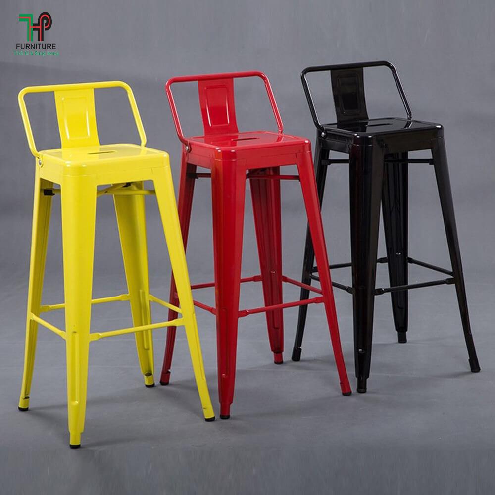 ghế bar tolix có tựa nhiều màu (1)